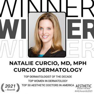 Natalie Curcio Wins Top Dermatologist